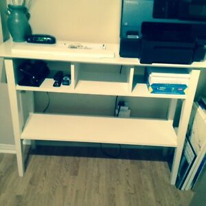 Console Table - White Kitchener / Waterloo Kitchener Area image 2