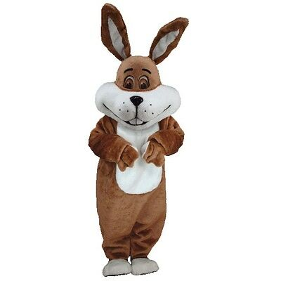 Super Brown Bunny Professional Quality Lightweight Mascot Costume](Super Bunny Costume)