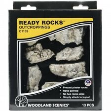 Woodland Scenics C1142 Terrain System Boulder Ready Rocks pcs 22