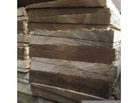 🌟 Treated Timber Feather Edge Fence Pieces / Boards