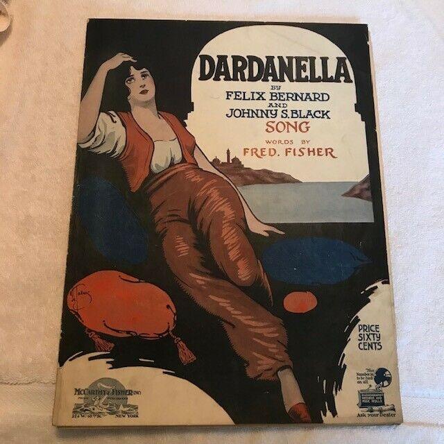 Dardanella (Bernard/Black/Fisher) - 1919 vintage sheet music: VG