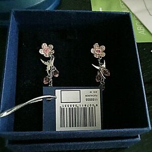 Authentic limited edition swarovski twinkle bell earrings