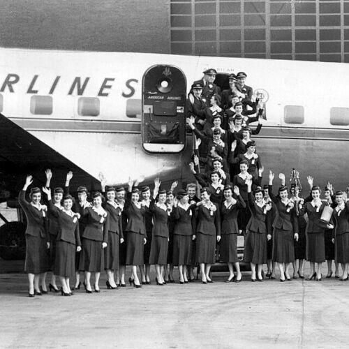"American Airlines Douglas DC-6 ((8.5""x11"")) Print"