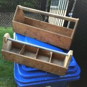 Wooden tool boxes ( 2 )