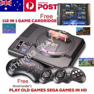 SEGA MEGA DRIVE HD REMAKE 112 GAME CARTRIDGE WIRELESS CONTROLLERS Hallam Casey Area Preview