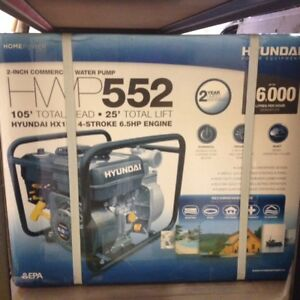Hyundai HWP552 6.5hp 2 inch Gas Water Pump