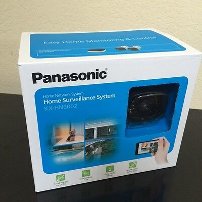 NEW Panasonic DIY Indoor Outdoor Home Surveillance Camera Kit KX HN6002W (WHITE)