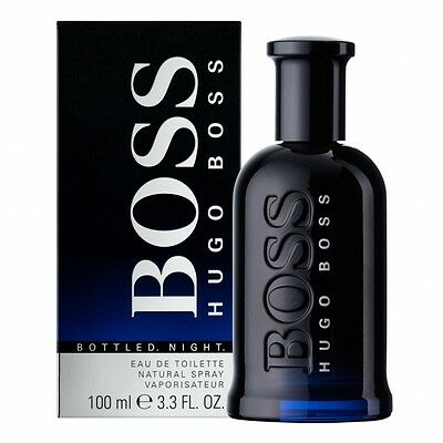 Parfum HUGO BOSS BOTTLED NIGHT EAU DE TOILETTE 100ML Neuf et sous blister