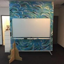 URGENT SALE! Whiteboard 1800x900 with aloy Stand Zetland Inner Sydney Preview