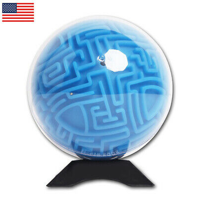 SmallGrass 3D Maze Puzzle Ball Intelligent Magic Maze Game for Adult Children - Maze Puzzle