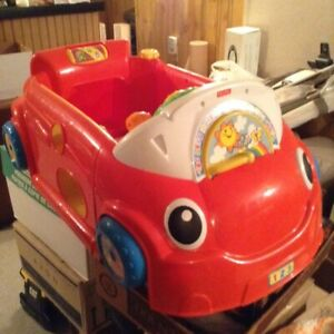 Sit & Play Stationary Car