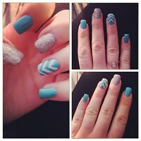 Beautiful, Affordable GEL NAILS for your WEDDING or anytime :)