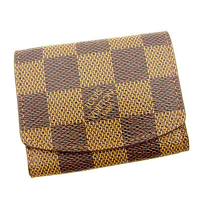 Louis Vuitton Cufflink case Damier Woman unisex Authentic Used T981