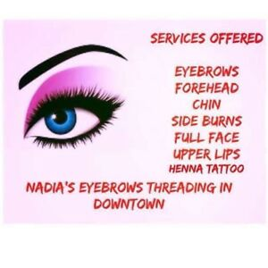 Eyebrows Threading In Downtown Near Dal and Smu