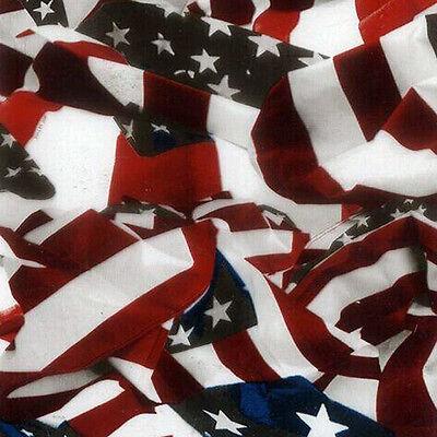 Flag Transfer (Wassertransferdruck Folie USA Flag Flagge 2 - 50cm breit)