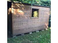 10 x 6 wooden shed for sale