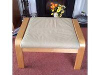 Ikea footstool - poang