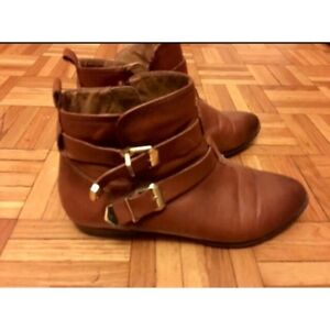 Brown ankle boots - size 7.5