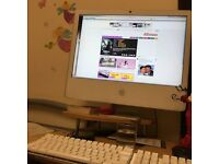 """24"""" Apple iMac late 2008 model with wireless keypad and mouse for sale"""