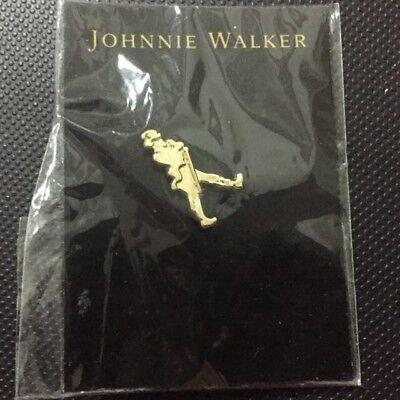 Johnnie Walker Scotch/Whisky-Walking Man-Back Hat Pins-Qty 2 NEW