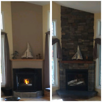 Fireplaces, furnaces and AC
