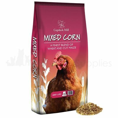 Copdock Mill Mixed Corn Poultry Chicken Seed Food Feed Mix 20Kg