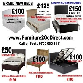Selection Of Quality New Bed and Mattress