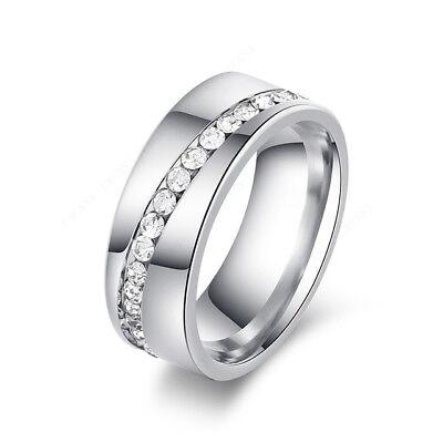Anillos Sortijas 18K De Compromiso Matrimonio Boda Oro Plata Anel De Prata 925