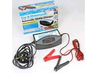 Car and Motorcycle 12v 1.5amp Automatic Trickle Charger for Batteries Streetwize