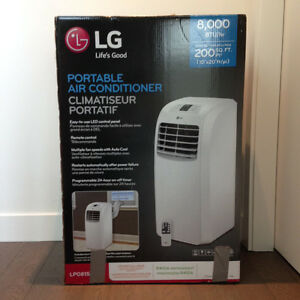 Air Conditioner: Portable AC LG 8,000 BTU's