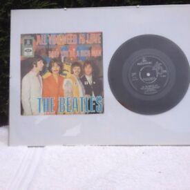 1970s records in frames