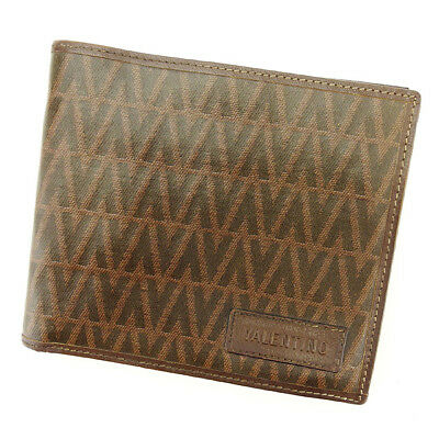 Auth VALENTINO Bifold Bill Compartment Women