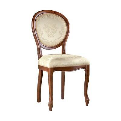 Französisch Esszimmer-möbel (Klassische Stühle Stuhl Echtes Holz Massiv Französische Möbel Esszimmerstuhl)