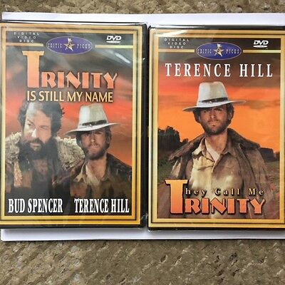 Terrence  Hill They Call  Me  Trinity  Trinity Is  My Name   2  New Sealed Dvds