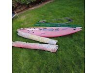 Windsurfer complete kit for beginner