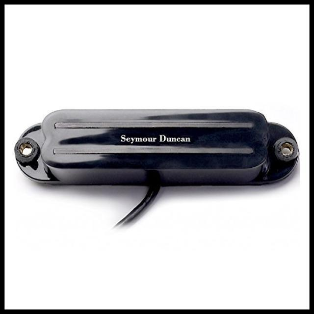 Seymour Duncan SHR-1b Hot Rails Strat Single Coil Guitar Bridge Pickup  Black