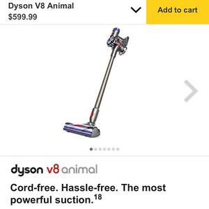 NEW UNOPENED Dyson V8 Animal
