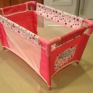 GRACO DOLL BED  NEW  **SOLD***