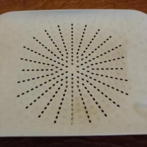 Used Flat Colander Sink Mat Protector, Drainer, Peelings Catcher