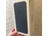 iPhone 7, sealed.