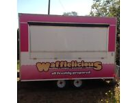 Waffle Trailer For Sale