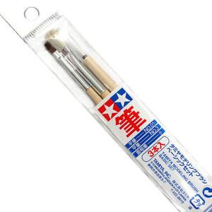 Tamiya Tools 3 pcs Model Modelling Paint Brush Basic Set 87066 New FREE SHIPPING
