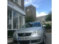 2005 VOLKSWAGEN POLO S 75 AUTO SILVER 5 DOOR FULL SERVICE HISTORY LOW INSURANCE AND CAR TAX.