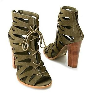 Call It Spring Lace Up Heels