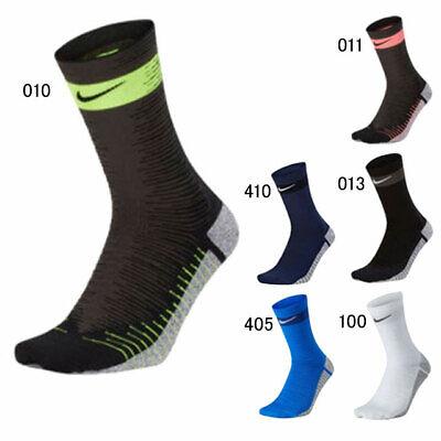 Nike NikeGrip Strike Lighweight Crew Unisex Football Socks Swoosh Anti-Slip