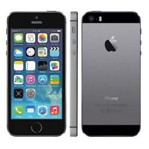 UNLOCKED DEBLOQUE APPLE IPHONE 5S 16GB 100% EN TRES BONNE CONDITION FIDO ROGERS TELUS BELL CHATR VIRGIN MOBILE KOODO+++