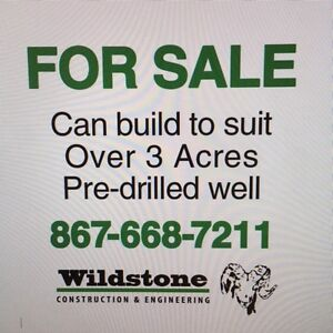 3+ acres for Sale/Lease Mt Sima