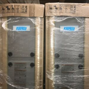 KEEPRITE Furnace - Natural Gas (NEW) 80,000 BTU, Hi- Efficiency