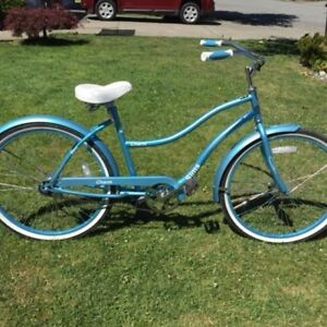 Single speed cruiser bike