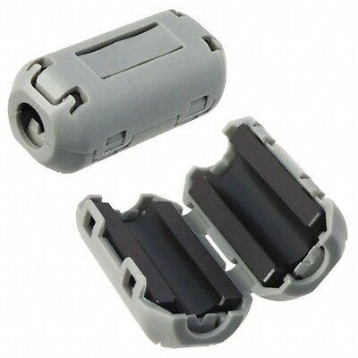 5x 5 Pc Lot Tdk 7mm Clip-on Rfi Emi Av Wire Lead Filter Ferrite Zcat1518-0730